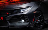 Honda Civic Type R sport line 2020 official press photos - front lights