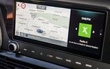 Hyundai i20 2020 prototype drive - infotainment