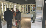 Jim Clark Museum preview day - trophy cabinet