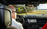 Jaguar Land Rover Cross Country - Defender interior