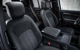 87 Land Rover Defender V8 2021 official images seats