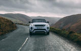 Land Rover Range Rover Evoque 2019 first ride review - on the road nose
