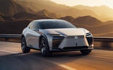 87 Lexus LF Z concept official images tracking