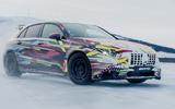 Mercedes-AMG A45 2019 prototype ride - hero drift