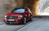 Mercedes-AMG GLB 35 2019 official press images - tunnel front