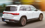 87 Mercedes Benz EQB 2021 official images tracking rear