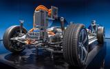 87 Mercedes EQS official reveal images powertrain