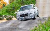 Mercedes-Benz GLA prototype ride 2019 - bumpy