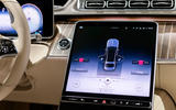 2021 Mercedes-Maybach S-Class official images - infotainment
