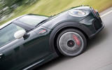 87 Mini JCW anniversary official images on road side