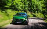 87 Peugeot 308 hatch 2021 FD on road nose