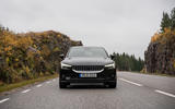 2020 Polestar 2 prototype drive - on the road nose