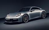 2019 Porsche 911 official reveal - studio front