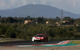 Porsche 911 RSR-19 drive - on track
