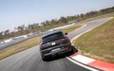 87 Porsche Cayene Turbo Coupe prototype 2022 track rear