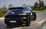 87 Porsche Macan GTS 2021 prototype drive rear end