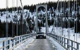 Porsche Taycan prototype ride 2019 - bridge