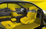 Renault Morphoz concept official studio images - front seats