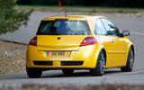 Renaultsport history picture special - Renaultsport Megane 225 rear