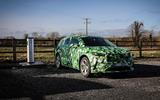 2020 Skoda Enyaq prototype first drive - charging