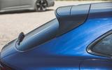87 super estate triple test 2021 Porsche spoiler