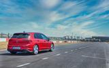2020 Volkswagen Golf GTI first ride - track rear