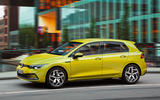 2020 Volkswagen Golf Mk8 official press - on the road side