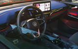 87 VW ID 4 GTX official images steering wheel