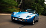 TVR Griffith 1994 - tracking front