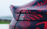 2020 Aston Martin DBX camouflaged prototype ride - boot lip