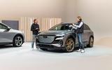 88 Audi Q4 etron 2021 official reveal static front
