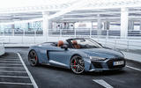 88 Audi R8 Performance RWD 2021 official images roadster static front