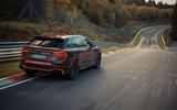 Audi RS Q8 2020 camo ride - track back