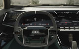88 Audi Sky sphere concept 2021 steering wheel