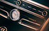 88 Bentley Flying Spur Mulliner official reveal clock