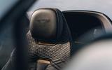 88 Bentley Mulliner Bacalar prototype drive 2021 seats