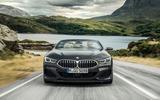 BMW 8 Series cabriolet 2018 official reveal - nose
