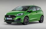 88 Ford Fiesta 2021 refresh ST studio static front