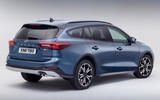 88 Ford Focus 2021 refresh official images active rear