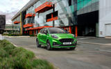 Ford Puma ST official images - on the road front