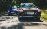 88 Genesis vs Audi twin test 2021 tracking