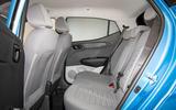 Hyundai i10 2019 reveal - studio rear seats