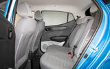 Hyundai i10 2019 reveal - studio rear seats
