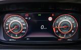 Hyundai i20 2020 prototype drive - instruments