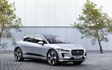 Jaguar I-Pace 2021 facelift official images - static front