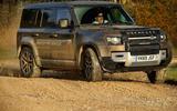 Jaguar Land Rover Cross Country - opposite lock