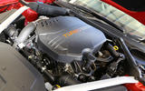 99 Kia Stinger GT420 racer - engine