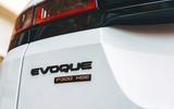 Land Rover Range Rover Evoque 2019 first ride review - rear badge