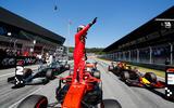 Charles Leclerc interview, 2019 British Grand Prix - waving
