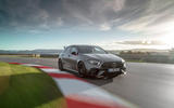 Mercedes-AMG A45 S 2019 official reveal - track front